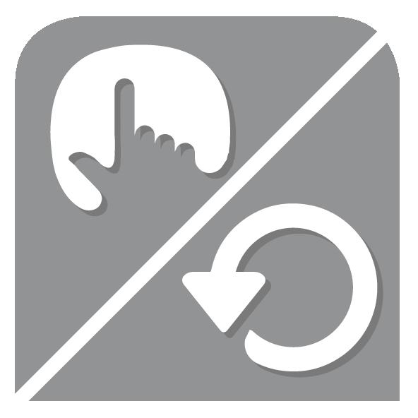 Ecran tactil pivot